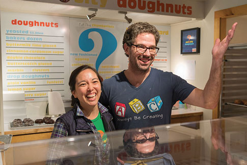 Aki Kamozawa and Alex Talbot or Curiosity Doughnuts