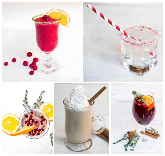 Healthy Holiday Cocktails!