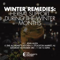 Winter Remedies – Herbal Support During The Winter Months