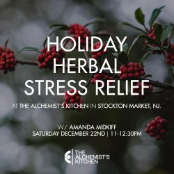 Holiday Herbal Stress Relief