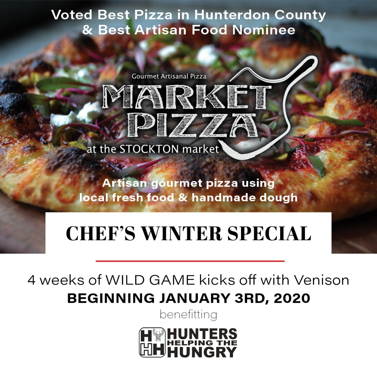 Market Pizza 4 Weeks Of Wild Game